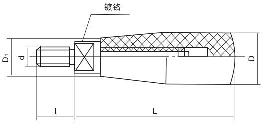 HY8310.5-2转动手柄结构图