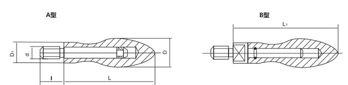 HY8310.6曲面转动手柄结构图
