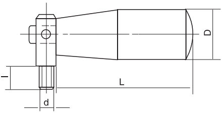 HY8310.11-1活节可折手柄结构图