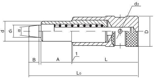 HY8310.22定位手柄结构图