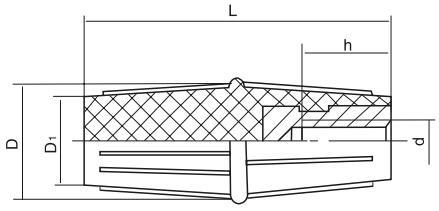 HY8311.22双锥形手柄套结构图