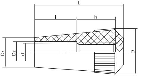 HY8311.23滚花长手柄套结构图