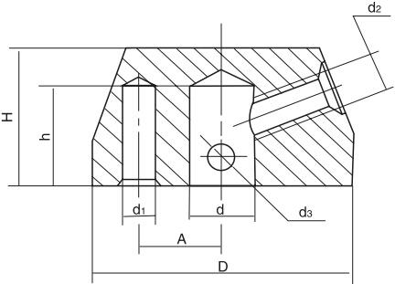 HY8312.4定位手柄座结构图