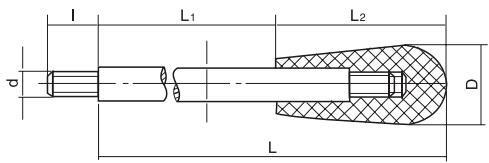 HY8310.28长椭圆套手柄结构图