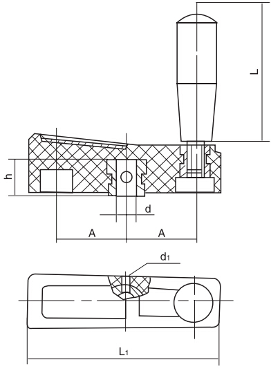 HY8310.21平衡手柄结构图