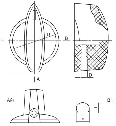 HY8314.30捏手结构图