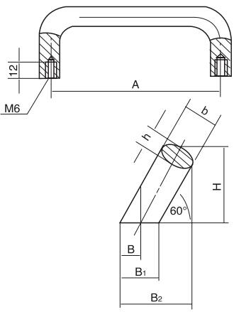 椭圆斜拉手结构图
