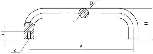 HY8315.10圆拉手结构图