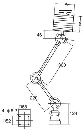 JD-06\JD-16工作灯结构图