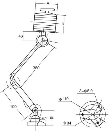 JD-07\JD-17工作灯结构图