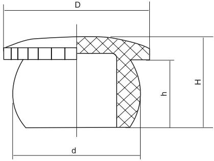 HY8330.3堵头结构图