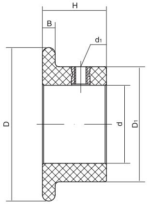 HY8330.3-1挡圈结构图