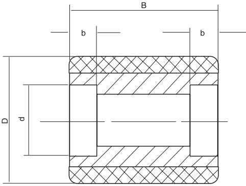 HY8330.8胶轮结构图