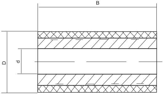 辊压胶轮结构图
