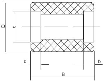HY8331.4尼龙轮结构图