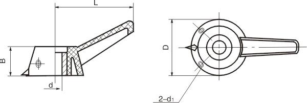 HY8311.2指示手柄结构图