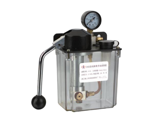 自动卸荷稀油手动润滑泵